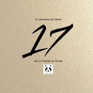 Calendrier de l'Avent instagram blog La Fiancee du Panda 17