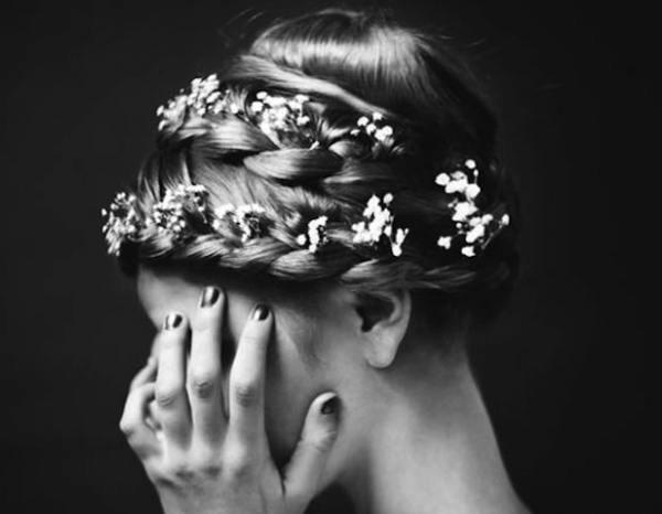Inspiration coiffure mariage tresse chignon l La Fiancee du Panda blog mariage