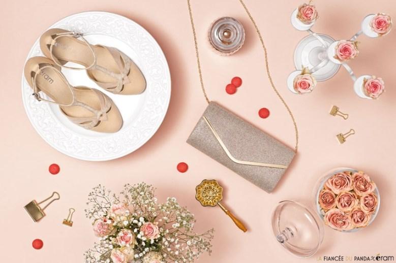 Chaussures mariage pas cheres Eram l Photo La Fiancee du Panda blog mariage tous droits reserves w