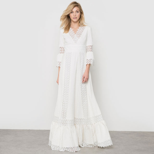 La robe de mariée Delphine Manivet x La Redoute