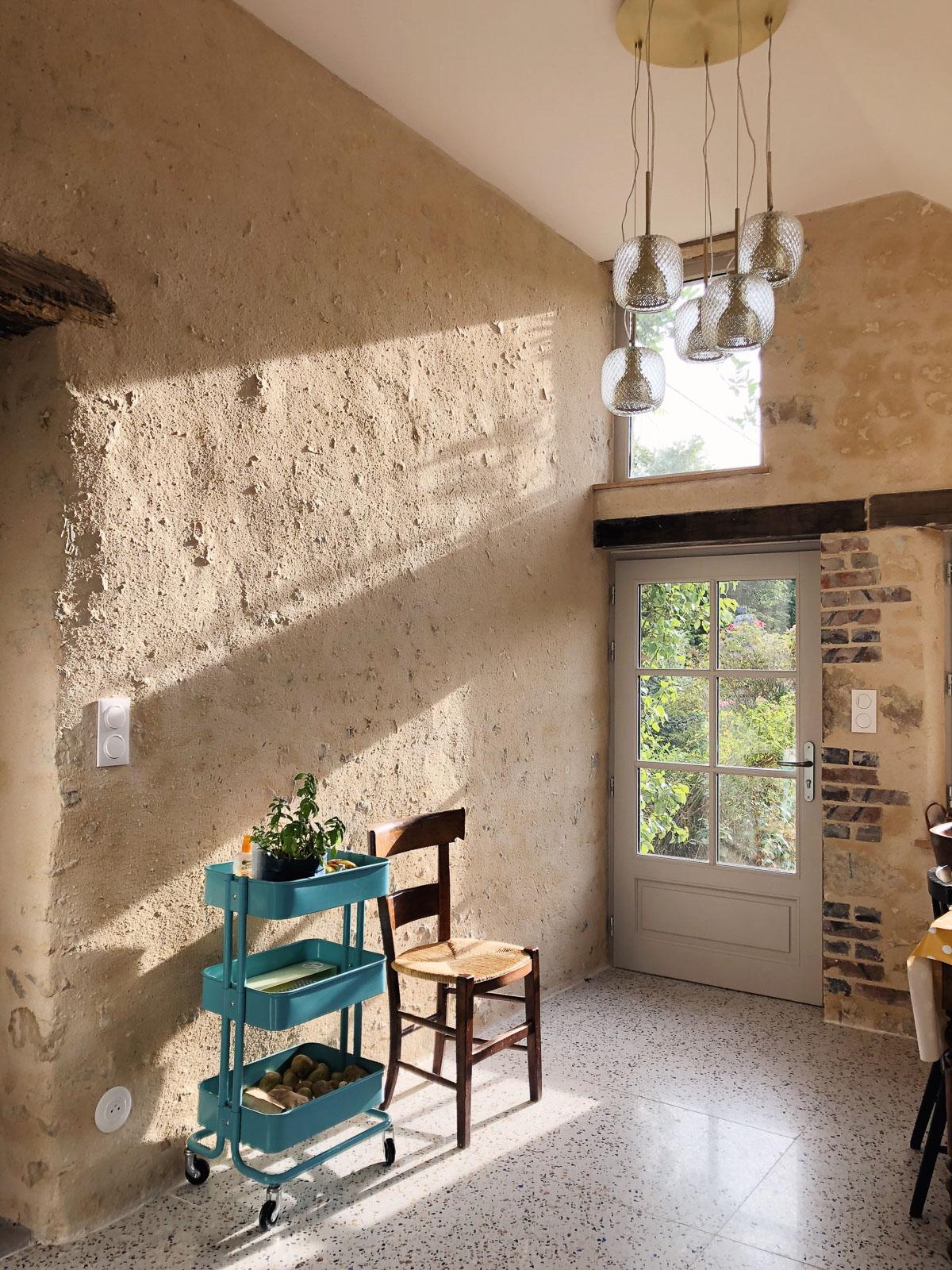 Renovation maison de campagne dans le Perche - cuisine style ...