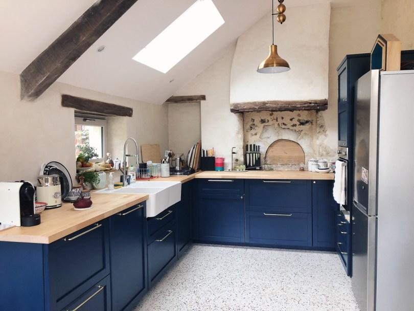 Renovation maison de campagne dans le Perche - cuisine style anglais l La Fiancee du Panda blog deco et mariage--4