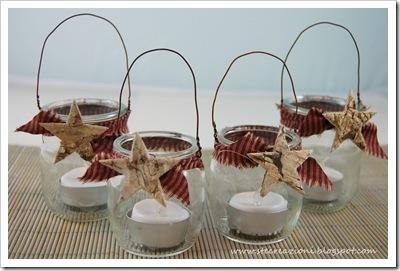 Barattoli di vetro e creativit  La Figurina