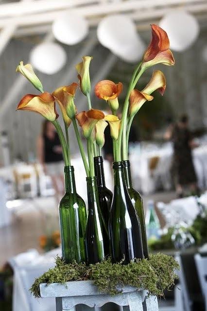 Riciclo creativo bottiglie in vetro  La Figurina