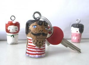Riciclo creativo di tappi di sughero  La Figurina