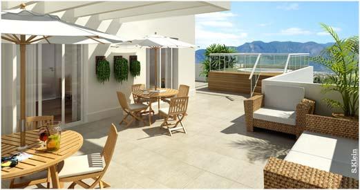 tante soluzioni per arredare un terrazzo o una veranda  La Figurina