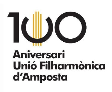 Societat Musical La Unió Filharmònica d´Amposta > Notícies > Es presenta el programa d´actes per commemorar el centenari de la Fila