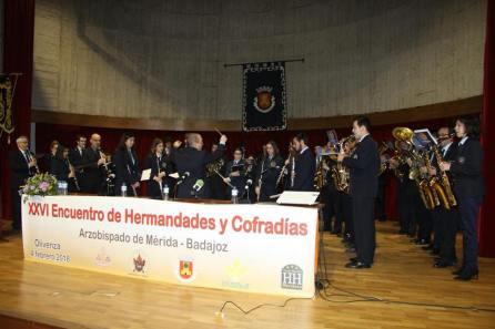 XXVI Encuentro de Hermandades y Cofradías de la Archidiócesis Mérida Badajoz Olivenz (1)