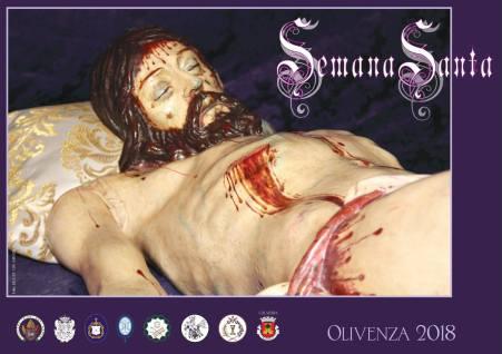 cartel semana santa olivenza 2018