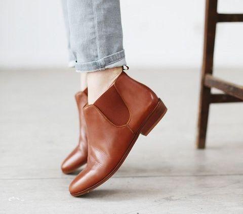 porter les chaussures en hiver