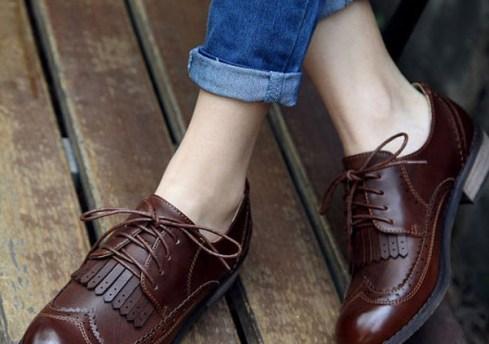 chaussures richelien-lafillementhealeau