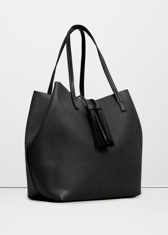 le sac shopper noir