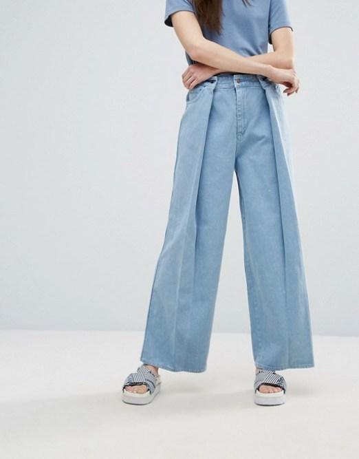 porter un jean large avec style