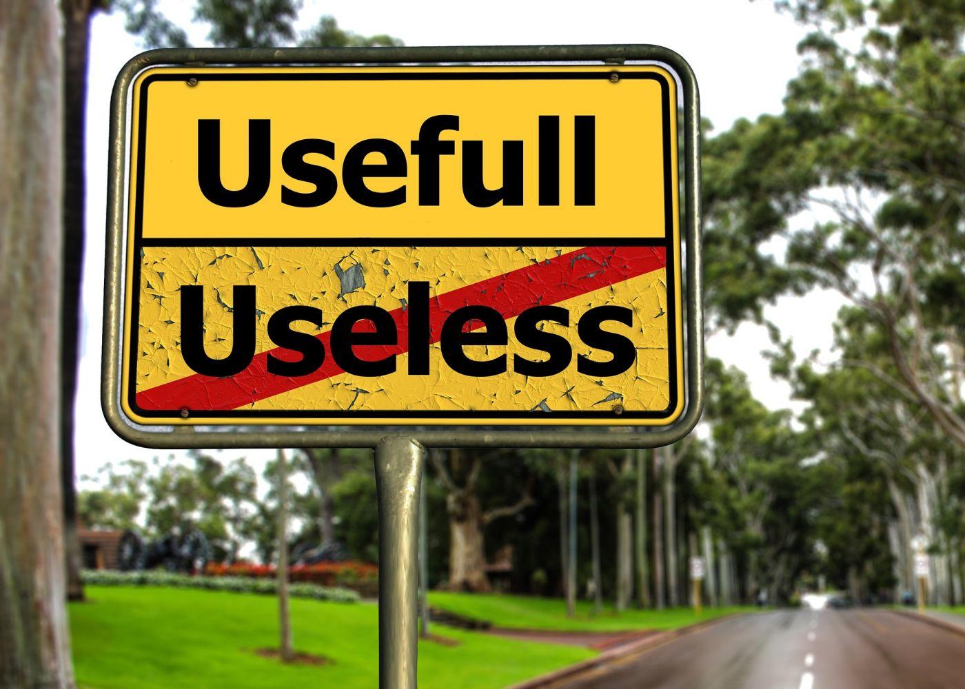 Panneau de signalisation indiquant un outil numérique éfficace