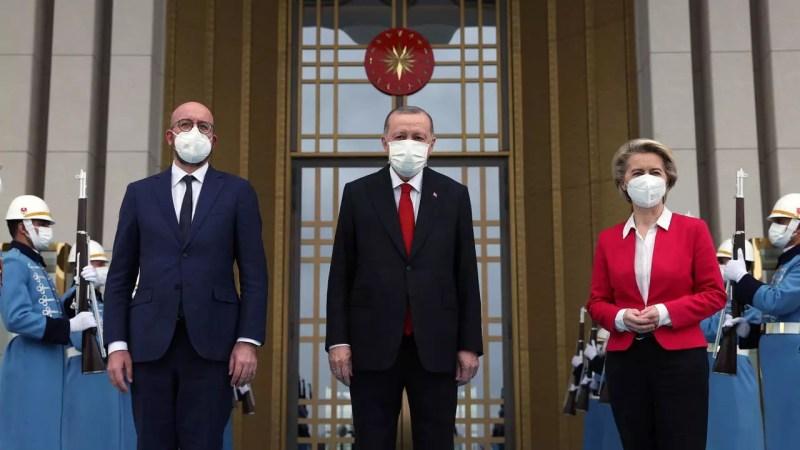 erdogan von der leyen michel