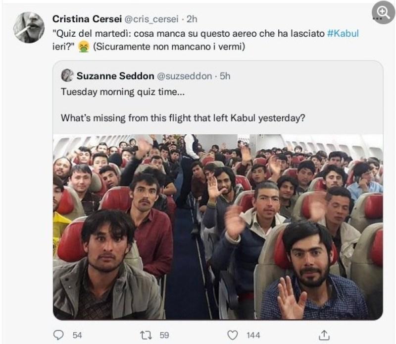 cristina ceresei afghanistan
