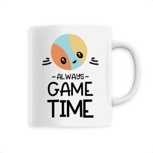 Mug céramique - Game time.