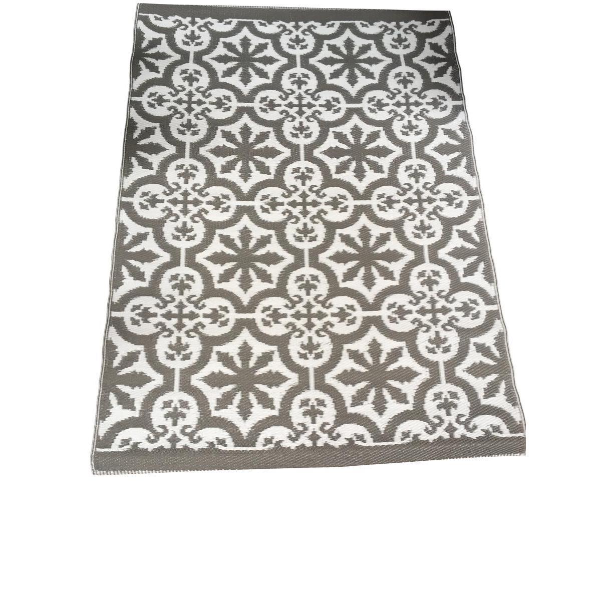 tapis avec motifs carreaux de ciment