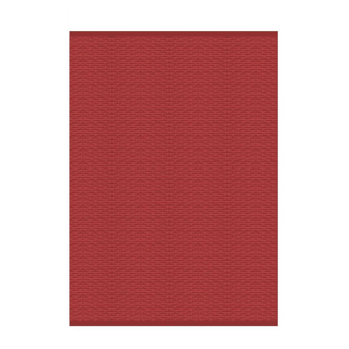 tapis exterieur polypropylene rouge