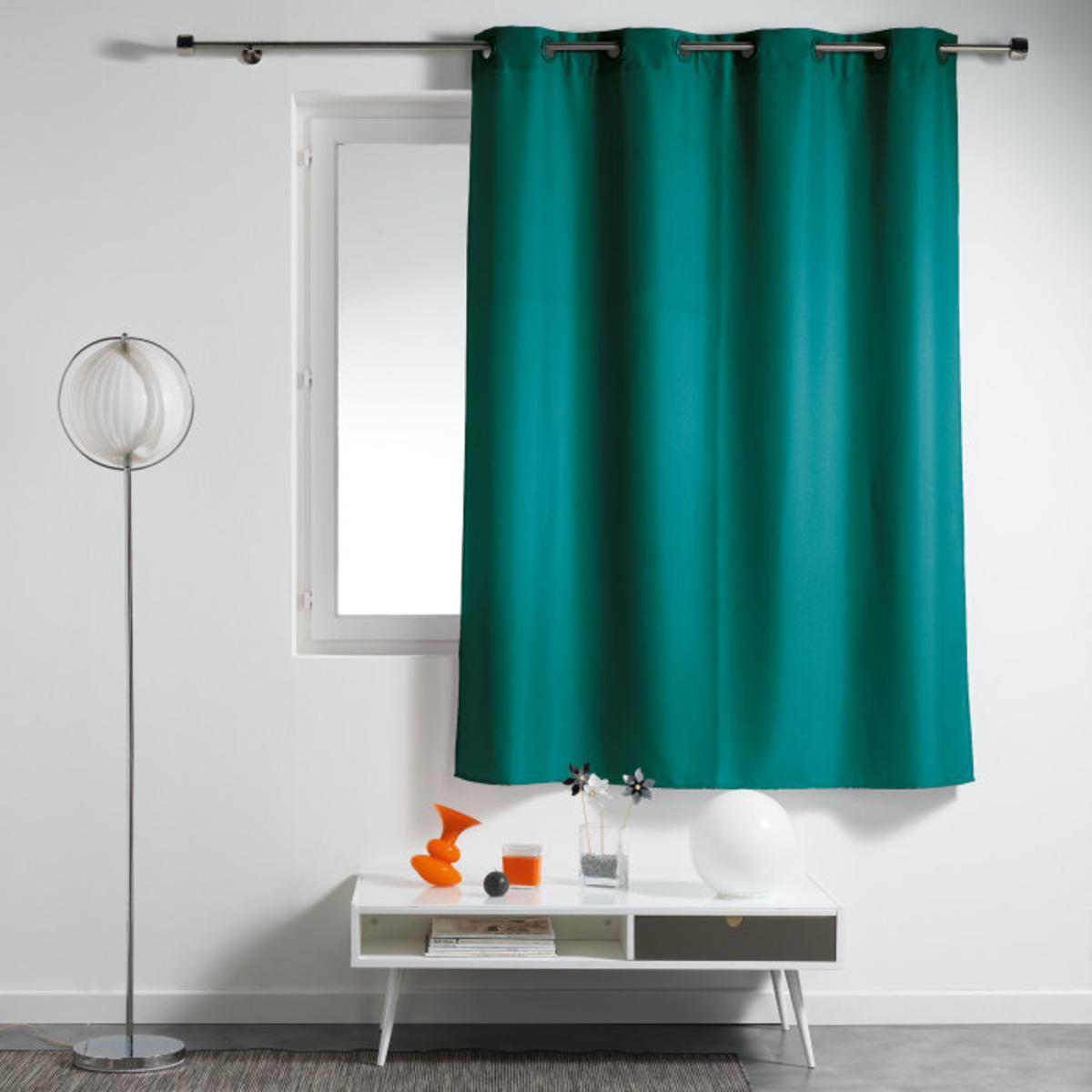 rideau essentiel 140 x 180 cm vert