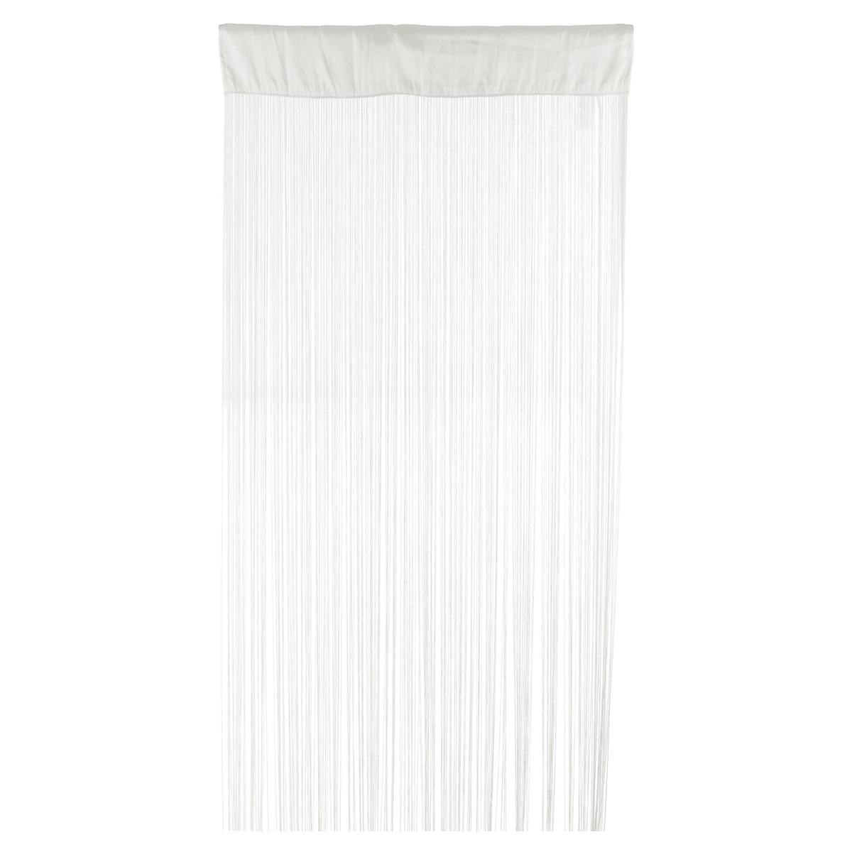 rideau fils 90 x 200 cm beige