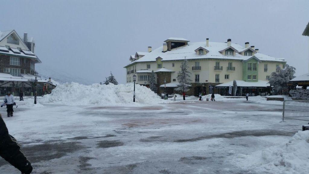 nieva en sierra nevada restaurante la fondue de noa