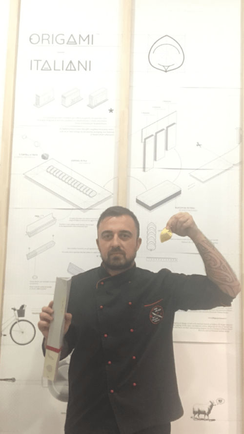 Chef Rubio at his worksh during Milano Design Week