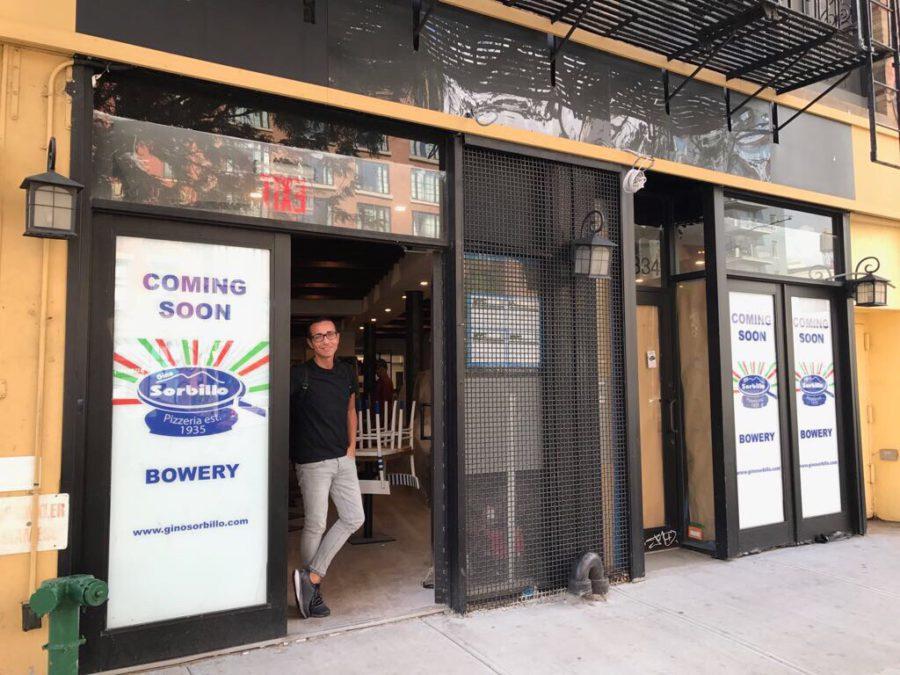 Gino Sorbillo at NYC location