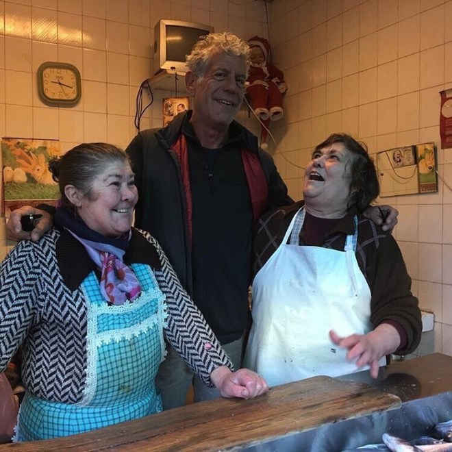 Celebrating Bourdain