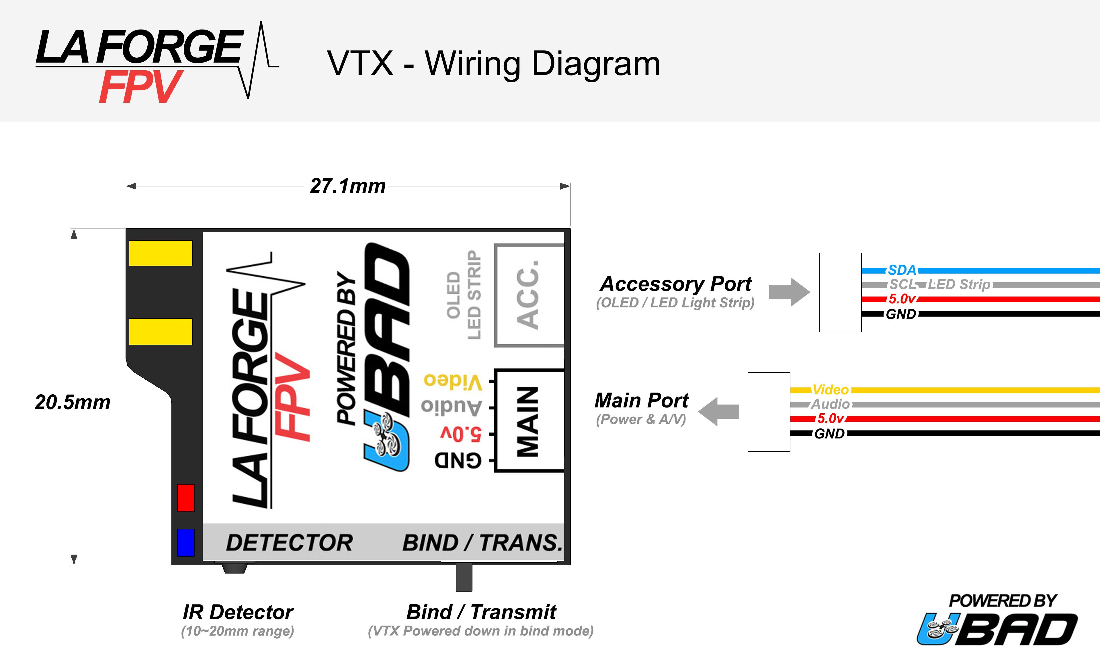 fpv transmitter wiring diagram db9 the transmitting module la forge