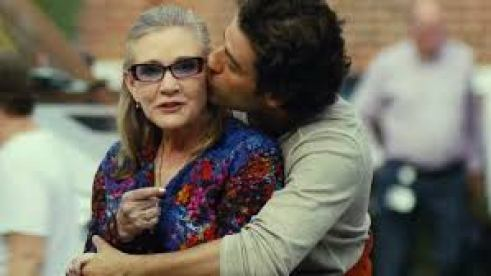 Oscar Isaac Carrie Fisher