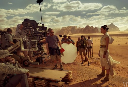 El Ascenso de Skywalker: Vanity Fair Daisy Ridley