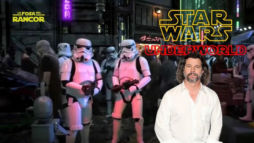 Ronald D. Moore, guionista de 'Star Wars: Underworld': «Me encantaría hacer algo en la franquicia de Star Wars»