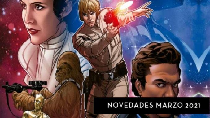 Novedades editoriales Star Wars: Marzo 2021