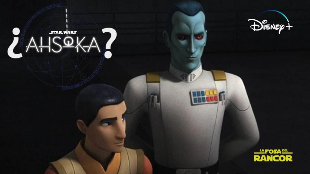 Ezra Bridger y el Gran Almirante Thrawn aparecerían en una serie de Disney+ (RUMOR)