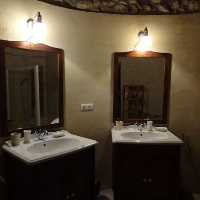 Salle de douche de la Master Room