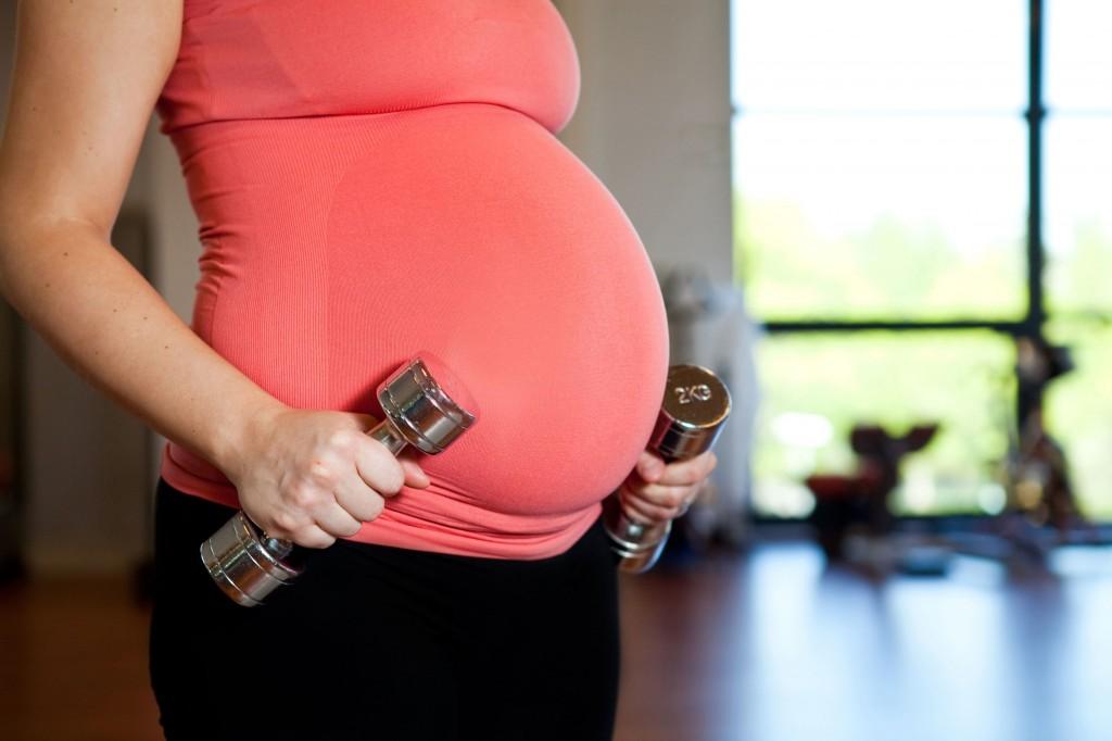 Entrenar embarazada