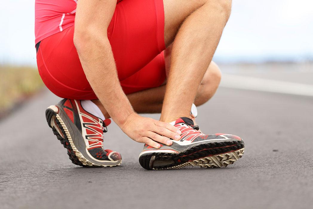 Lesión de tobillo en los corredores