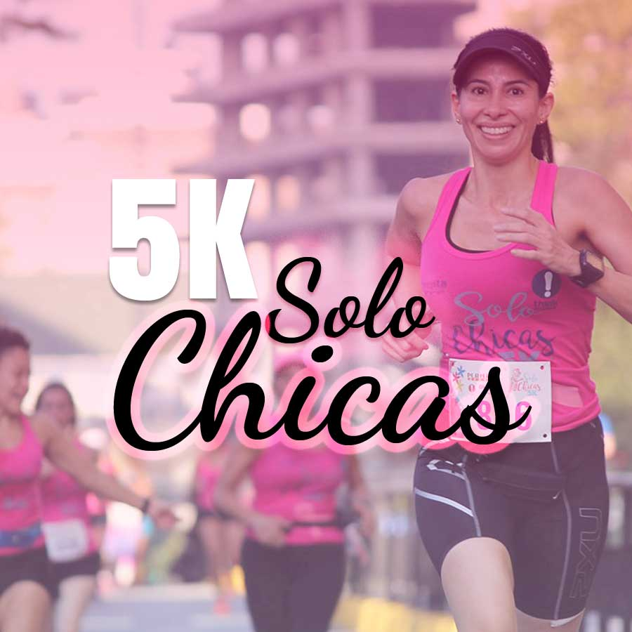 5K Solo Chicas 2017 Anuncio