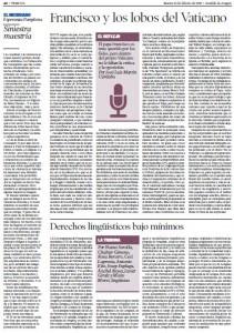 SASL - Heraldo 100215 - Derechos lingüísticos