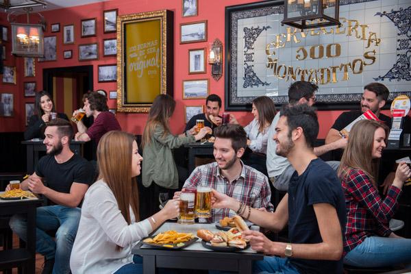 100 Montaditos, la franquicia de cervecería con más éxito