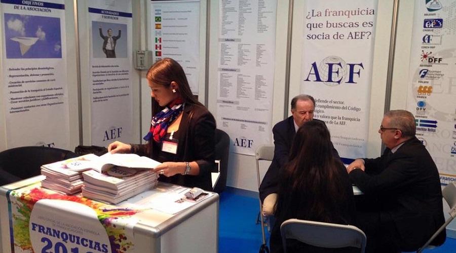 La AEF acude al salón de la franquicia FranquiAtlántico