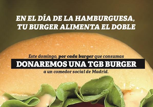 Día Internacional de la Hamburguesa también en la franquicia TGB