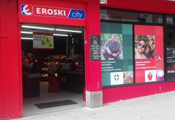 Eroski inaugura un nuevo supermercado franquiciado en Vizcaya