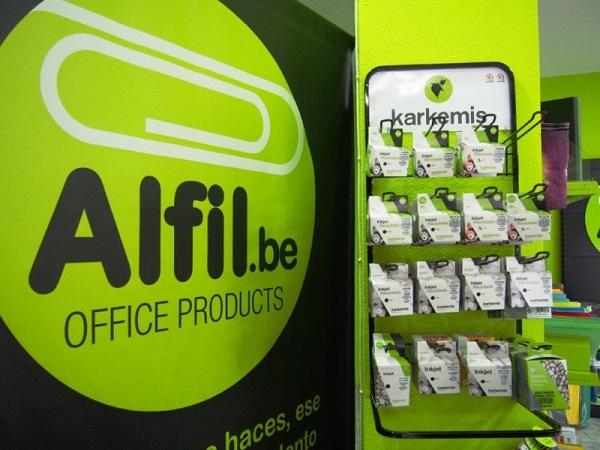 Nueva franquicia de papelerías Alfil.be en la provincia de Barcelona