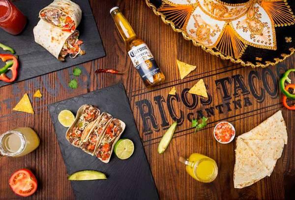 Coca-Cola y Red Bull apuestan por la franquicia Ricos Tacos