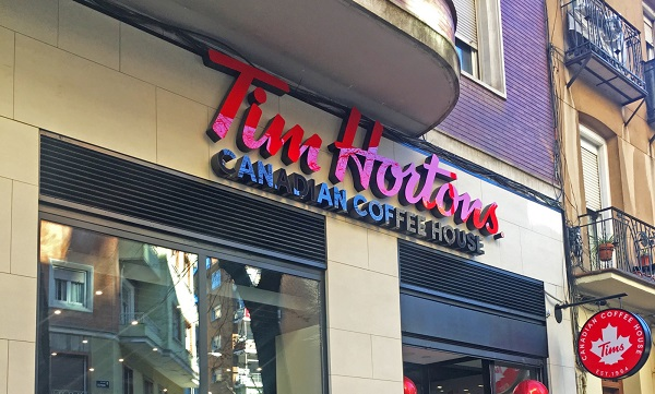 La franquicia Tim Hortons sigue imparable en 2019