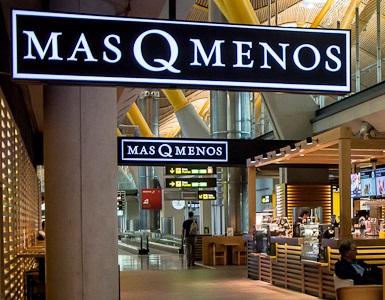 MásQMenos abre en el aeropuerto de Málaga y se aproxima de la veintena de franquicias en España