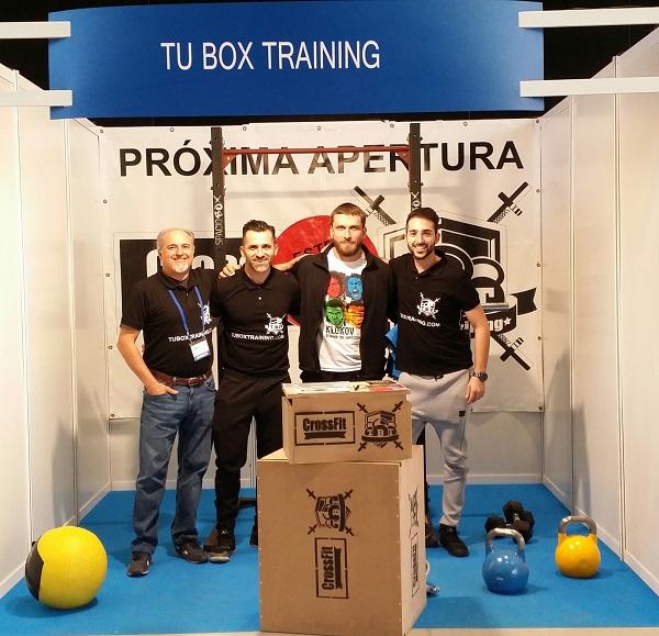 Éxito de la franquicia Tu Box Training (TBT) en el February Fitness de León