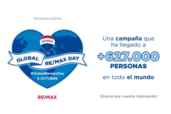 Remax España apoya a La Palma